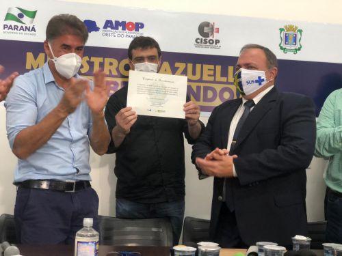 Ministro da Saúde visita Região Oeste do Paraná.