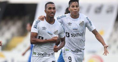 Santos vence São Bento e escapa de ser rebaixado no Paulista.