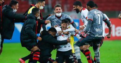 Copa do Brasil: Vitória supera Inter no Beira-Rio e avança às oitavas