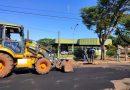 Mundo Novo Secretaria Municipal de Infraestrutura realiza recuperação asfáltica no bairro Berneck