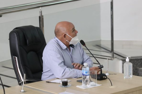 Guaíra Executivo apresenta LOA e LDO na Câmara Municipal