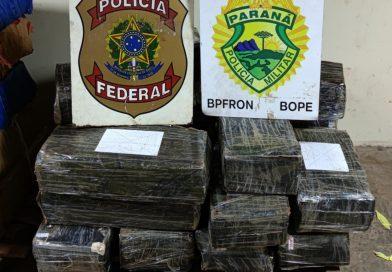 POLÍCIA FEDERAL e BPFRON realizam nova apreensão de 325 quilos de Maconha
