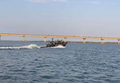 Comandante Militar do Sul confere combate a crimes na fronteira do Brasil com o Paraguai